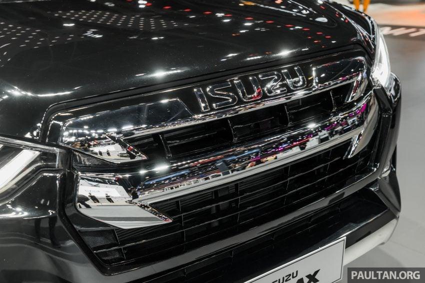 新车实拍:第三代 Isuzu D-Max 首次公开亮相泰国车展 Image #112295