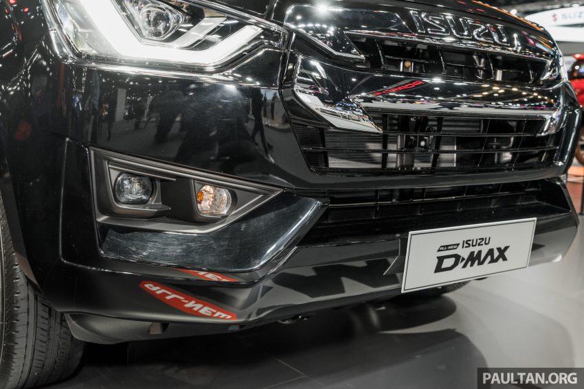 新车实拍:第三代 Isuzu D-Max 首次公开亮相泰国车展 Image #112296