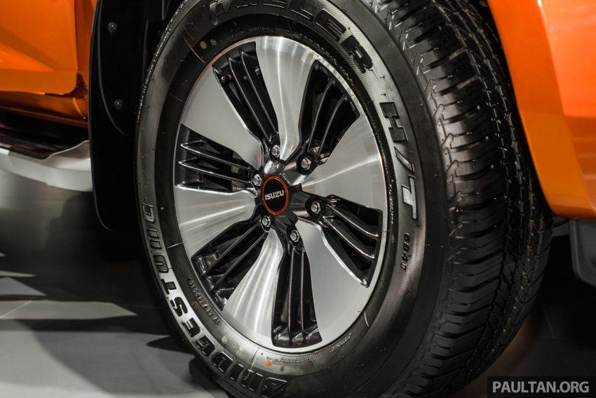 新车实拍:第三代 Isuzu D-Max 首次公开亮相泰国车展 Image #112328