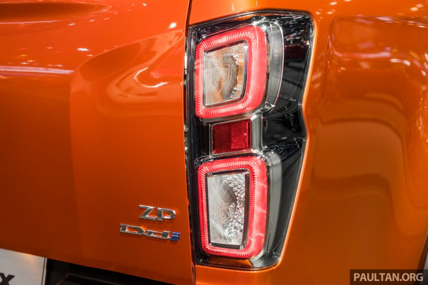 新车实拍:第三代 Isuzu D-Max 首次公开亮相泰国车展 Image #112333