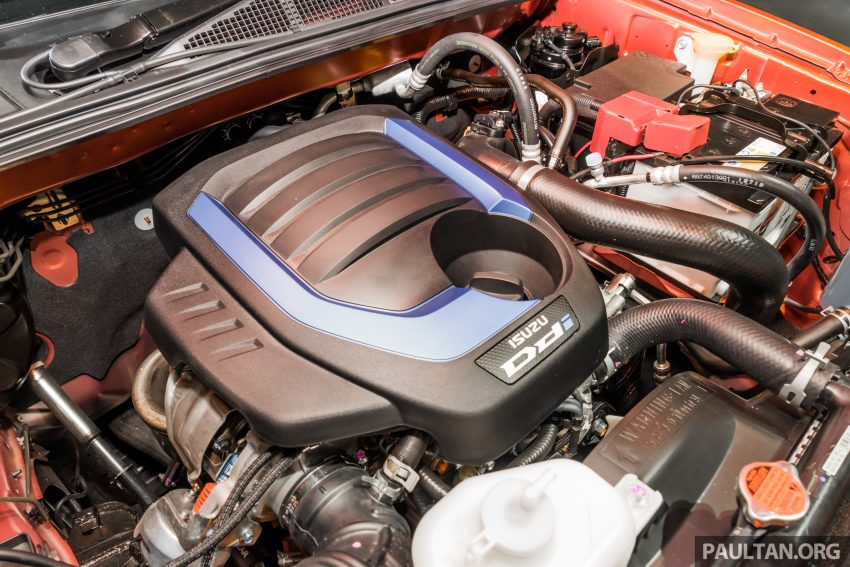 新车实拍:第三代 Isuzu D-Max 首次公开亮相泰国车展 Image #112335