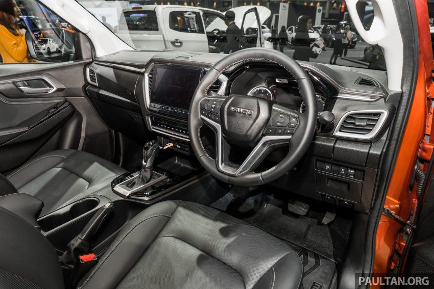 新车实拍:第三代 Isuzu D-Max 首次公开亮相泰国车展 Image #112336