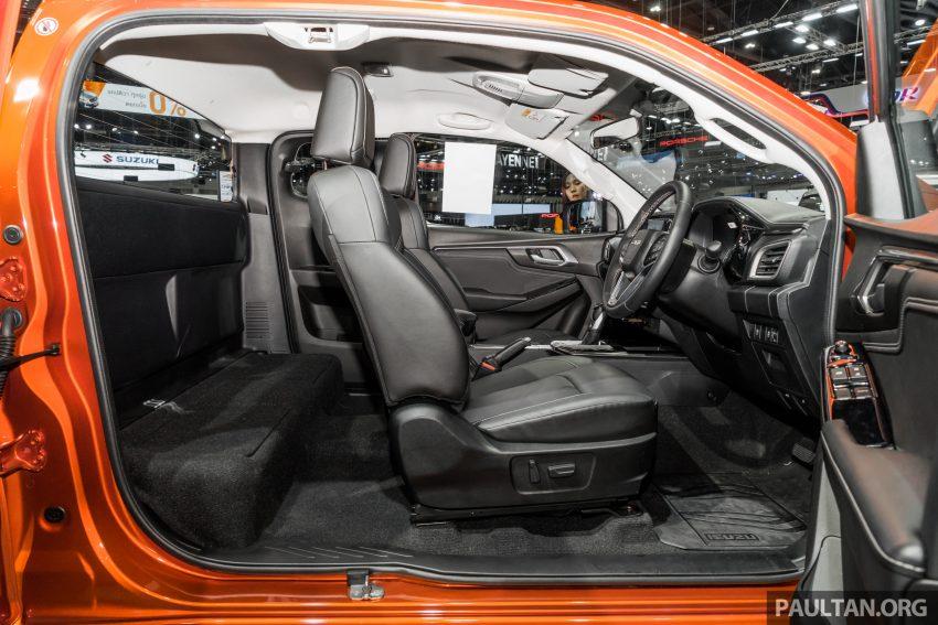 新车实拍:第三代 Isuzu D-Max 首次公开亮相泰国车展 Image #112338