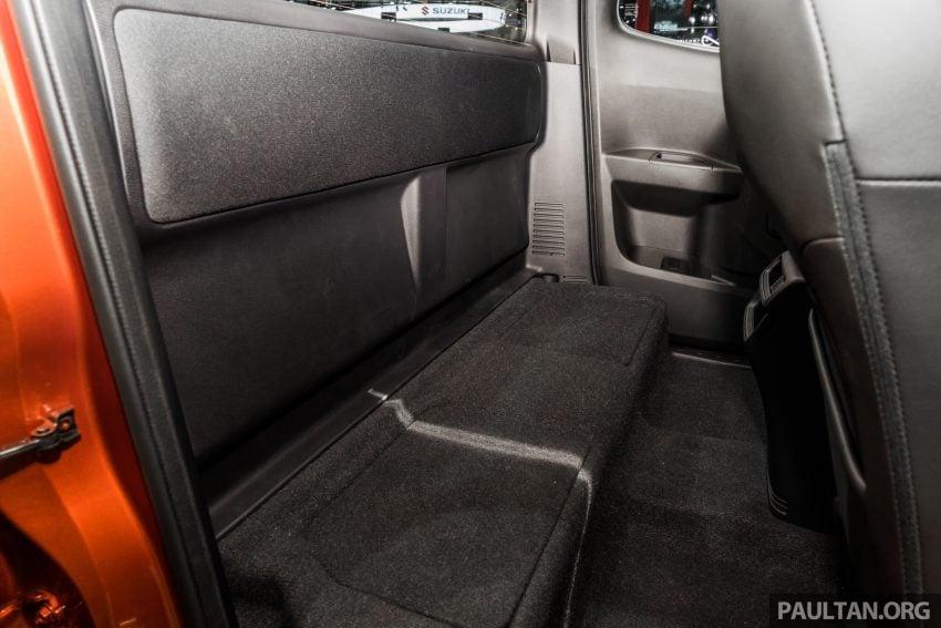 新车实拍:第三代 Isuzu D-Max 首次公开亮相泰国车展 Image #112340