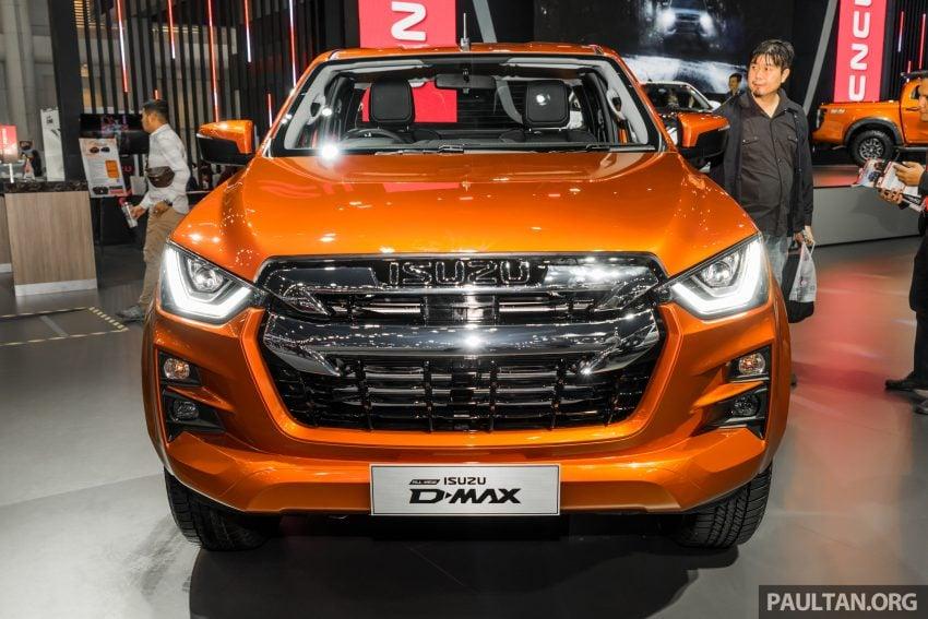 新车实拍:第三代 Isuzu D-Max 首次公开亮相泰国车展 Image #112322