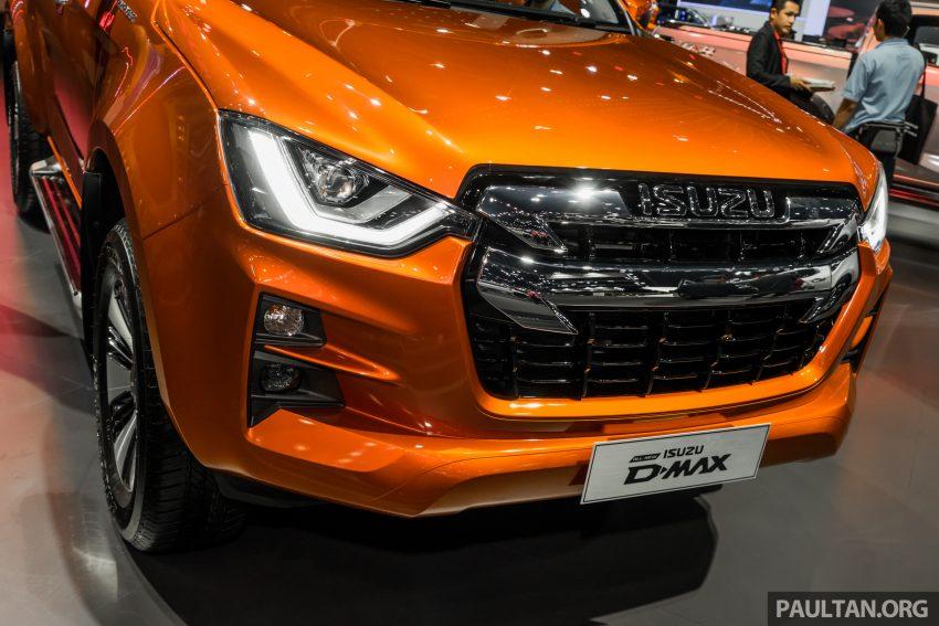 新车实拍:第三代 Isuzu D-Max 首次公开亮相泰国车展 Image #112324