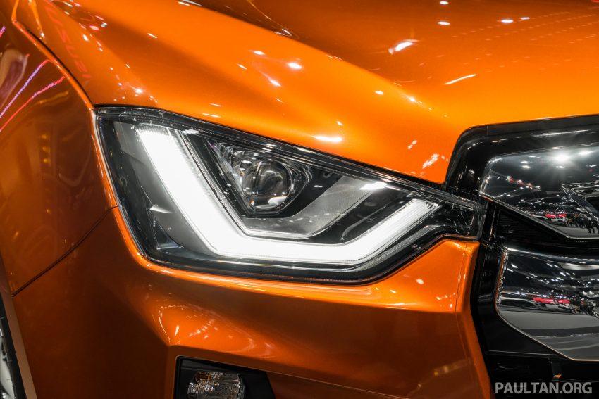 新车实拍:第三代 Isuzu D-Max 首次公开亮相泰国车展 Image #112325
