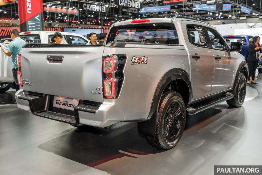 新车实拍:第三代 Isuzu D-Max 首次公开亮相泰国车展 Image #112244