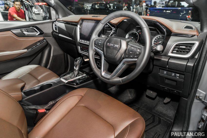新车实拍:第三代 Isuzu D-Max 首次公开亮相泰国车展 Image #112262
