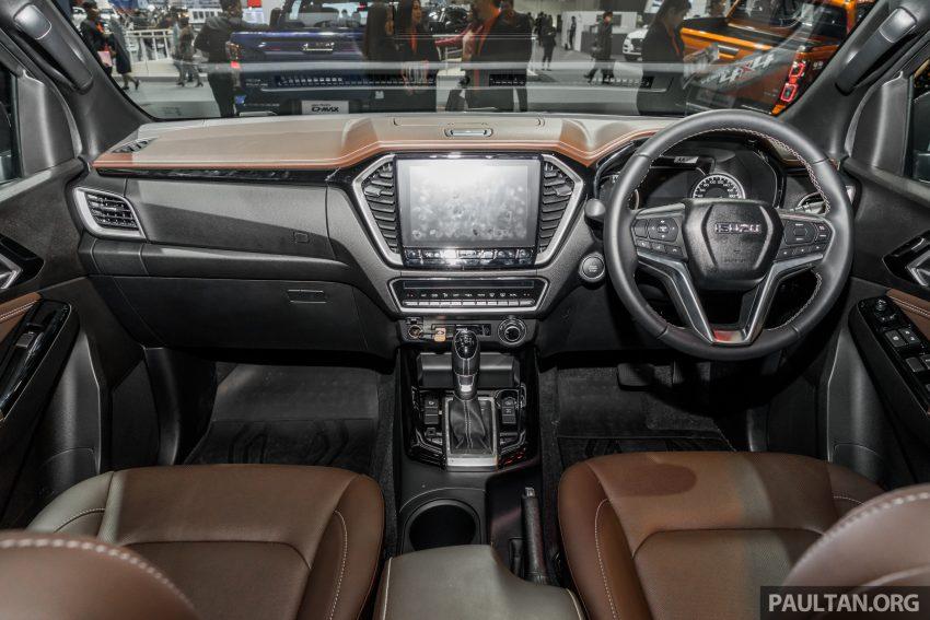 新车实拍:第三代 Isuzu D-Max 首次公开亮相泰国车展 Image #112264
