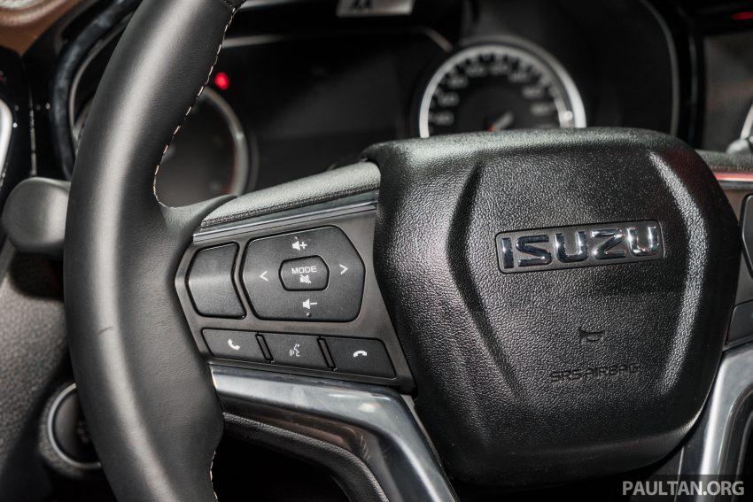 新车实拍:第三代 Isuzu D-Max 首次公开亮相泰国车展 Image #112266