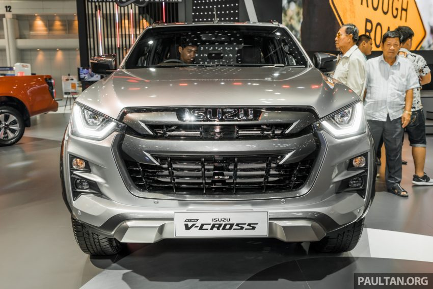 新车实拍:第三代 Isuzu D-Max 首次公开亮相泰国车展 Image #112246
