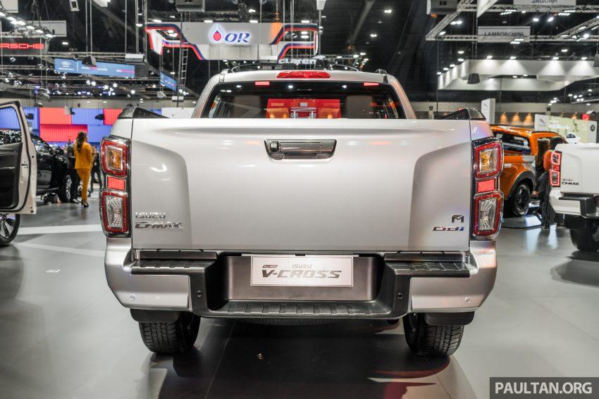 新车实拍:第三代 Isuzu D-Max 首次公开亮相泰国车展 Image #112247