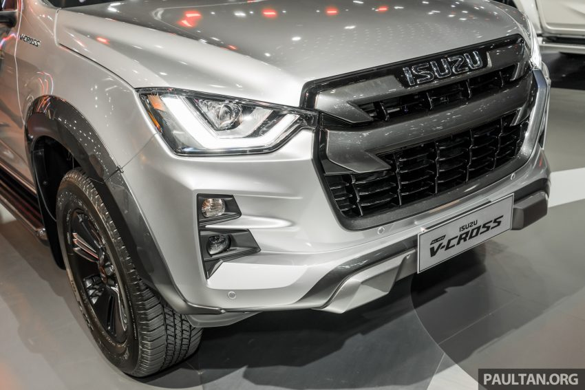 新车实拍:第三代 Isuzu D-Max 首次公开亮相泰国车展 Image #112248