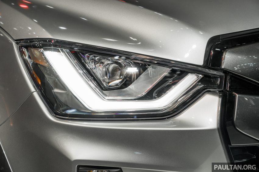 新车实拍:第三代 Isuzu D-Max 首次公开亮相泰国车展 Image #112249
