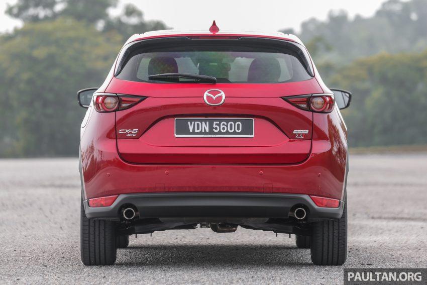 试驾:2019 Mazda CX-5 2.5 Turbo,外表依旧但实力超凡 Image #112554