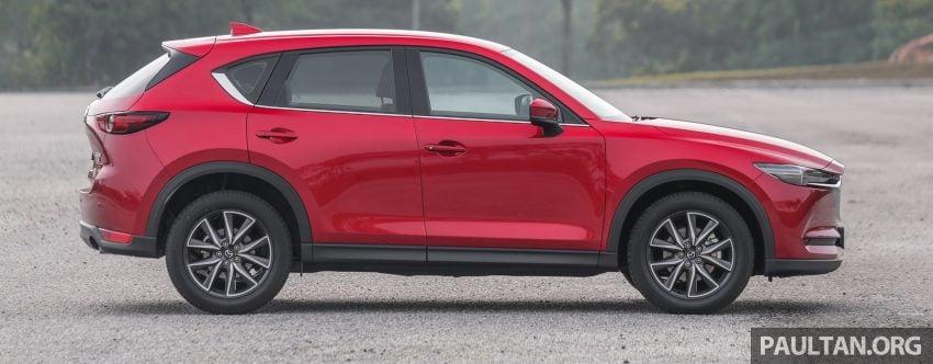 试驾:2019 Mazda CX-5 2.5 Turbo,外表依旧但实力超凡 Image #112555