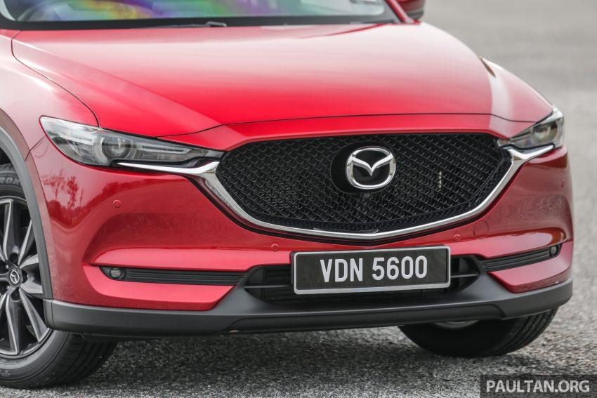 试驾:2019 Mazda CX-5 2.5 Turbo,外表依旧但实力超凡 Image #112557