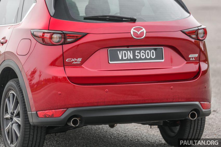 试驾:2019 Mazda CX-5 2.5 Turbo,外表依旧但实力超凡 Image #112569