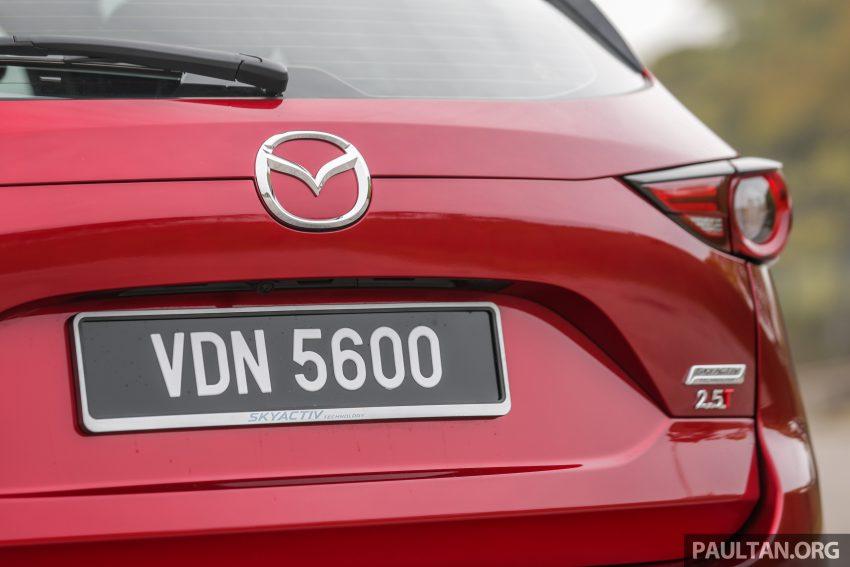 试驾:2019 Mazda CX-5 2.5 Turbo,外表依旧但实力超凡 Image #112573