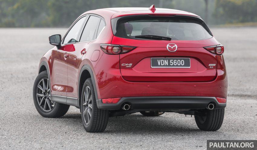 试驾:2019 Mazda CX-5 2.5 Turbo,外表依旧但实力超凡 Image #112548