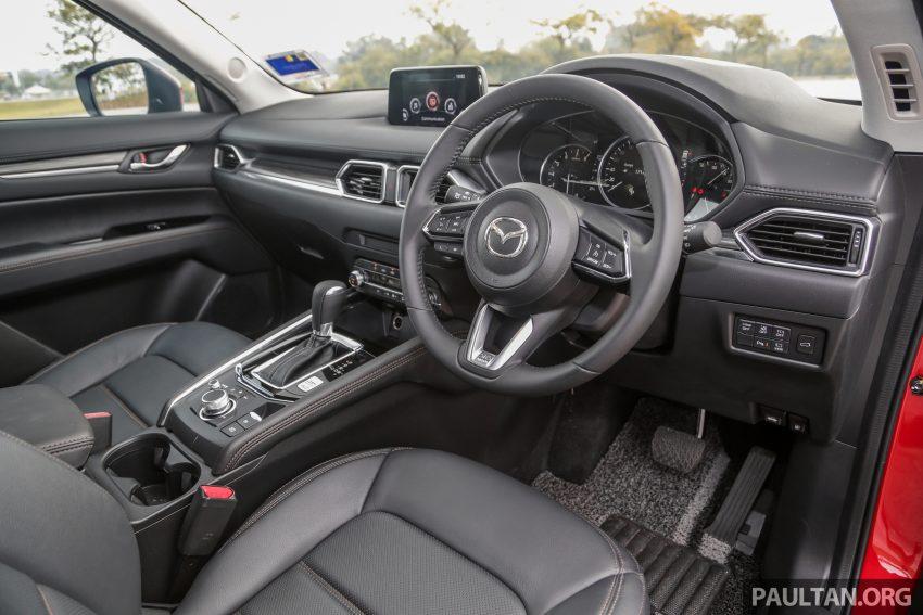 试驾:2019 Mazda CX-5 2.5 Turbo,外表依旧但实力超凡 Image #112579