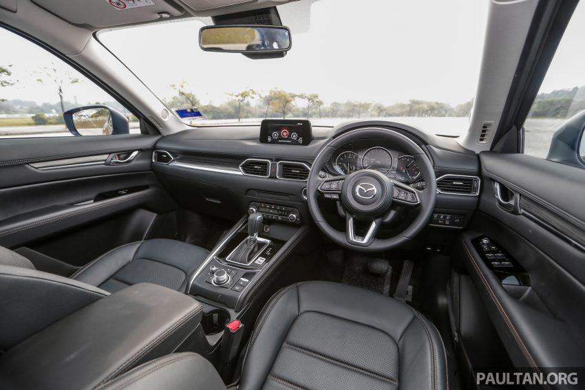 试驾:2019 Mazda CX-5 2.5 Turbo,外表依旧但实力超凡 Image #112601