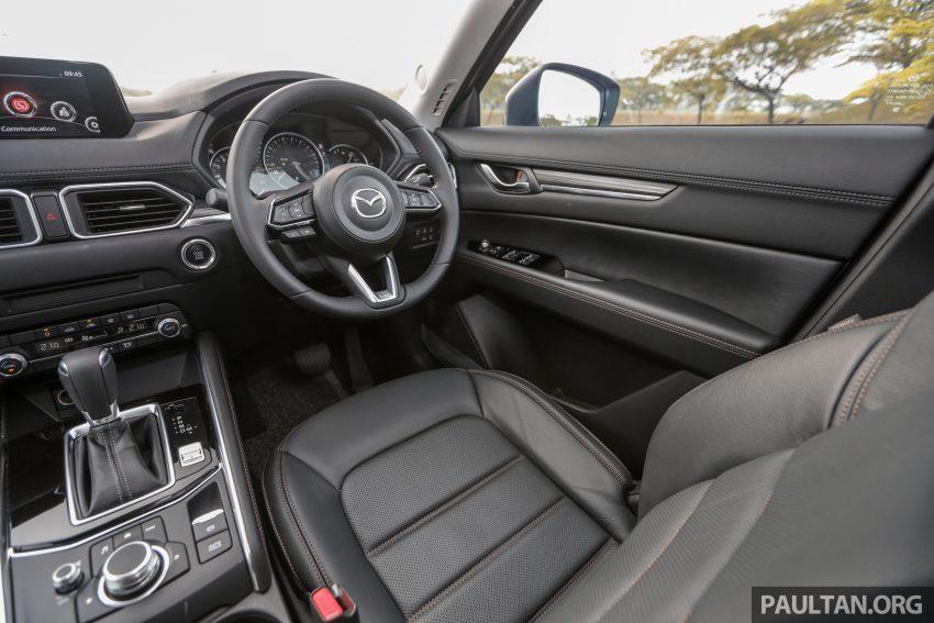 试驾:2019 Mazda CX-5 2.5 Turbo,外表依旧但实力超凡 Image #112602