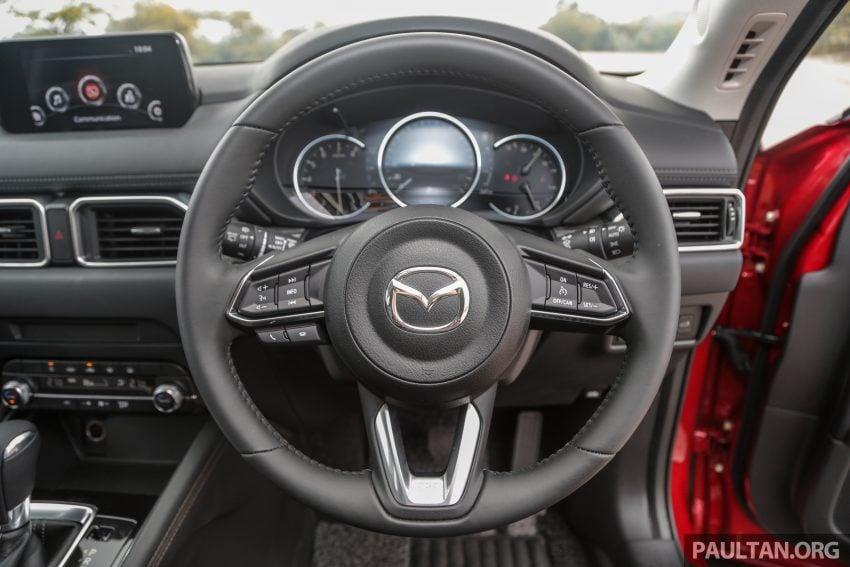 试驾:2019 Mazda CX-5 2.5 Turbo,外表依旧但实力超凡 Image #112581