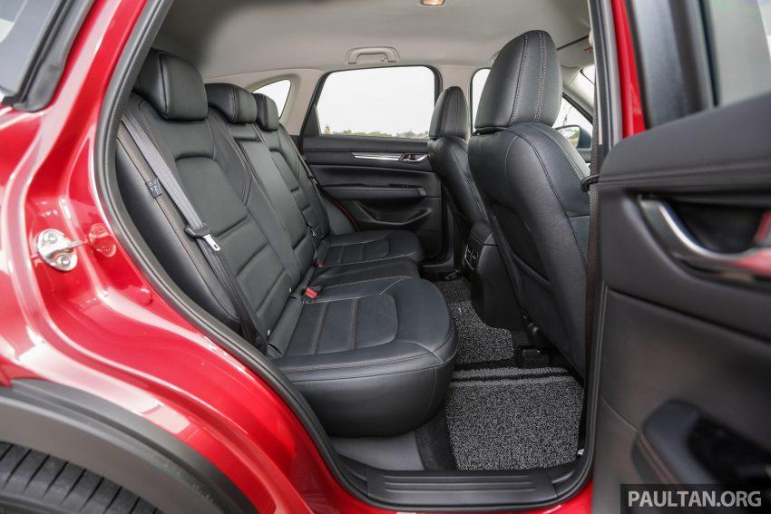 试驾:2019 Mazda CX-5 2.5 Turbo,外表依旧但实力超凡 Image #112614