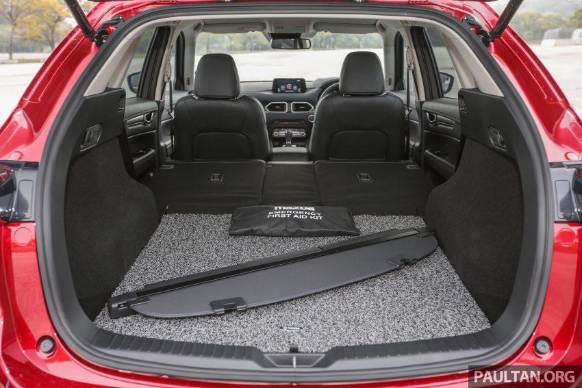 试驾:2019 Mazda CX-5 2.5 Turbo,外表依旧但实力超凡 Image #112620