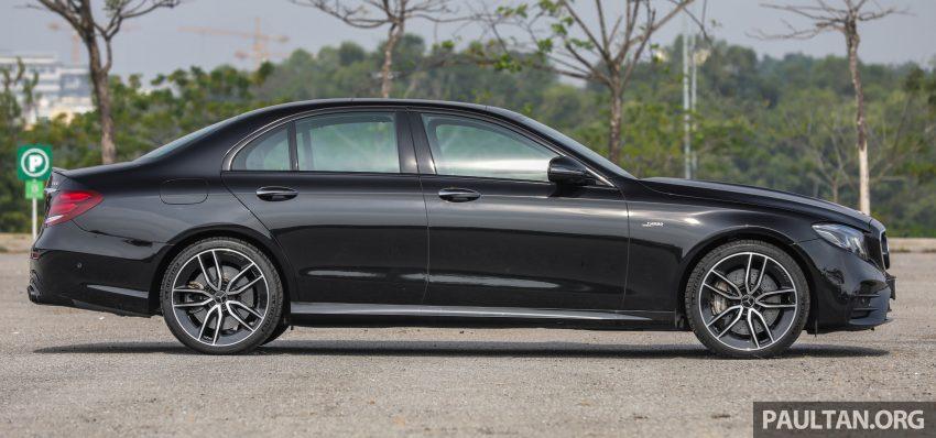 试驾:Mercedes-AMG E 53 4Matic+,是绅士亦是猛兽 Image #113086