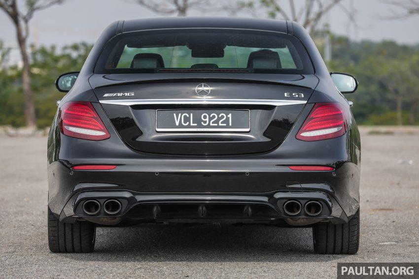 试驾:Mercedes-AMG E 53 4Matic+,是绅士亦是猛兽 Image #113090
