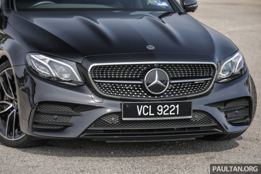 试驾:Mercedes-AMG E 53 4Matic+,是绅士亦是猛兽 Image #113091