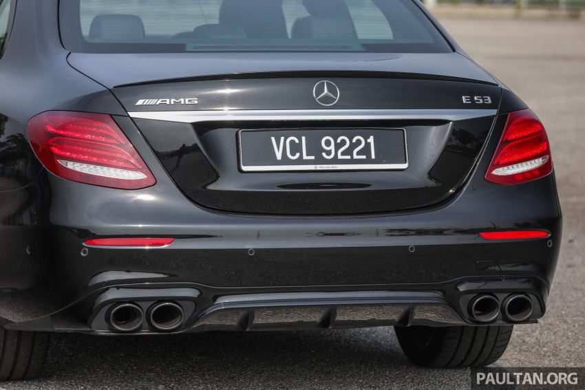 试驾:Mercedes-AMG E 53 4Matic+,是绅士亦是猛兽 Image #113107