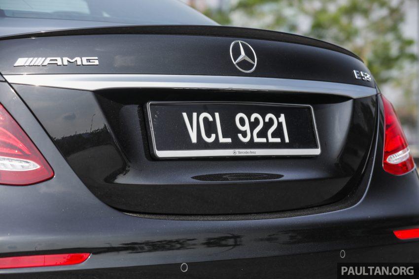 试驾:Mercedes-AMG E 53 4Matic+,是绅士亦是猛兽 Image #113111