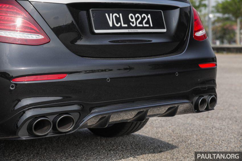 试驾:Mercedes-AMG E 53 4Matic+,是绅士亦是猛兽 Image #113112