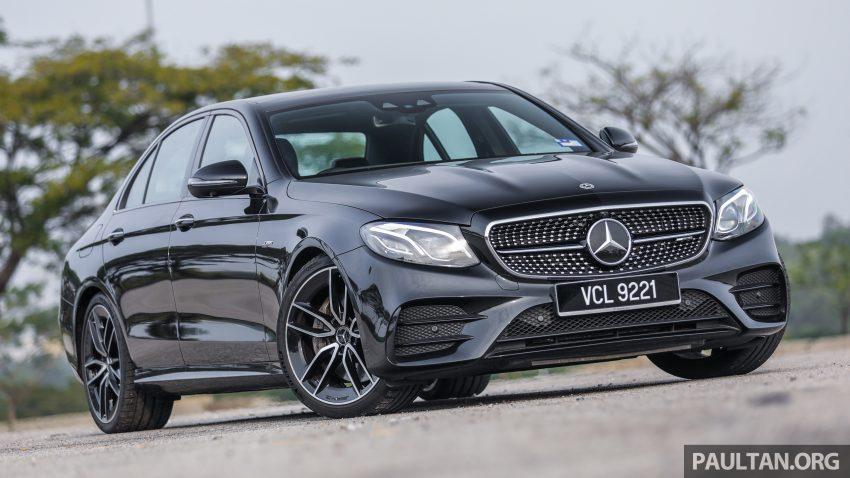 试驾:Mercedes-AMG E 53 4Matic+,是绅士亦是猛兽 Image #113302
