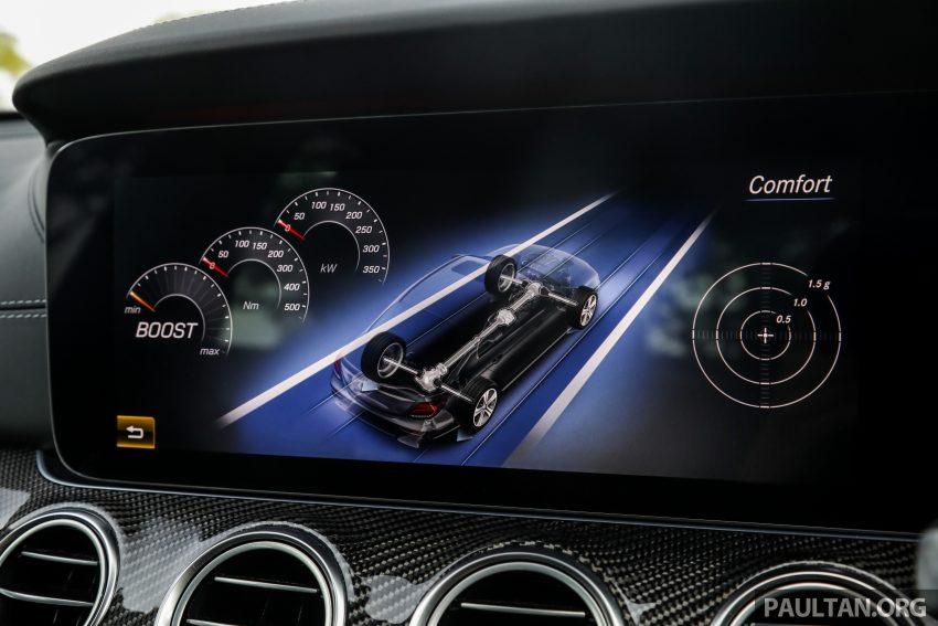 试驾:Mercedes-AMG E 53 4Matic+,是绅士亦是猛兽 Image #113154