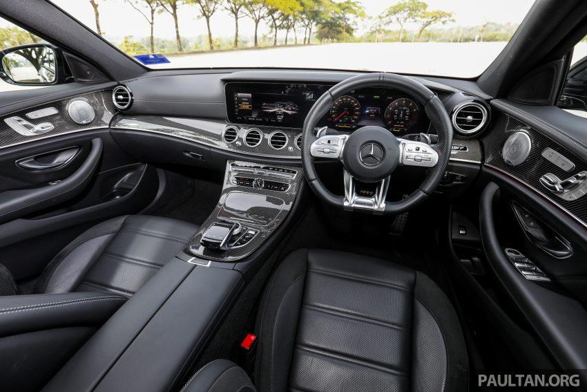 试驾:Mercedes-AMG E 53 4Matic+,是绅士亦是猛兽 Image #113168