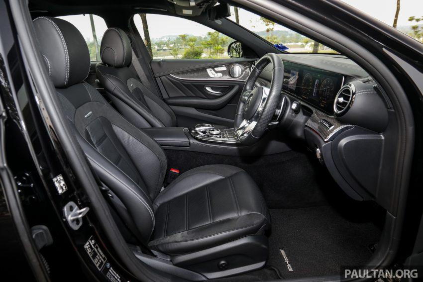 试驾:Mercedes-AMG E 53 4Matic+,是绅士亦是猛兽 Image #113171