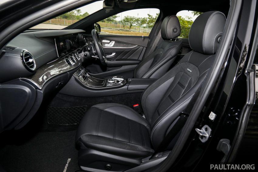 试驾:Mercedes-AMG E 53 4Matic+,是绅士亦是猛兽 Image #113172