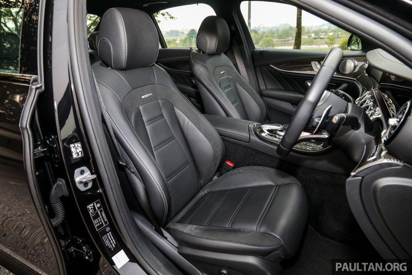 试驾:Mercedes-AMG E 53 4Matic+,是绅士亦是猛兽 Image #113173