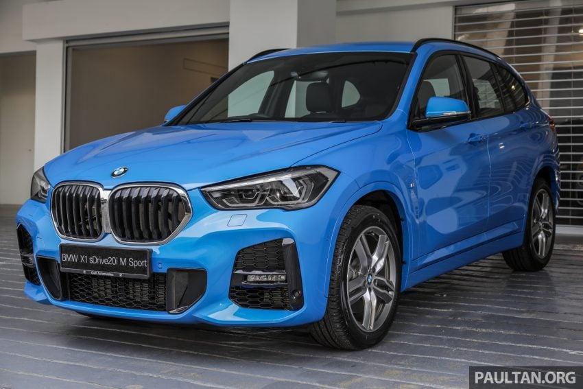 新车实拍: BMW X1 sDrive20i M Sport, 入门SUV更年轻化 Image #114651