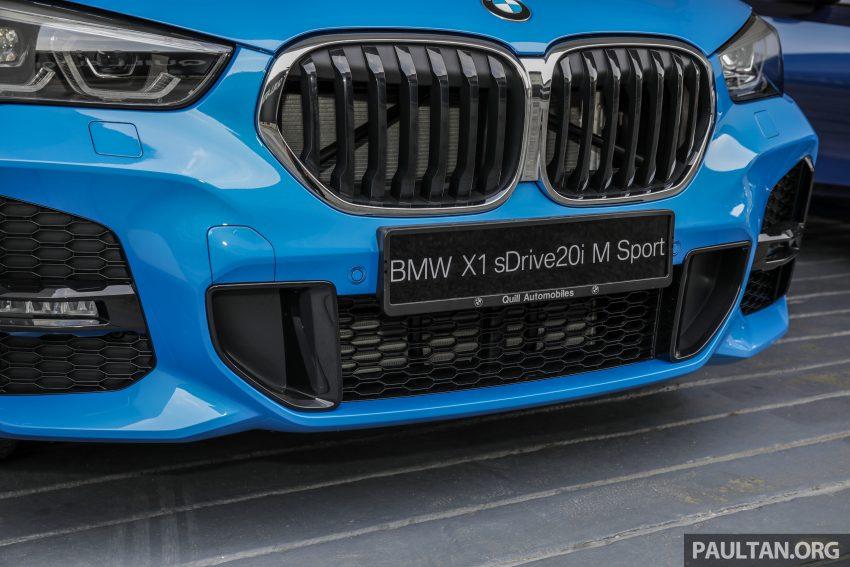 新车实拍: BMW X1 sDrive20i M Sport, 入门SUV更年轻化 Image #114660