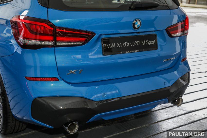 新车实拍: BMW X1 sDrive20i M Sport, 入门SUV更年轻化 Image #114668