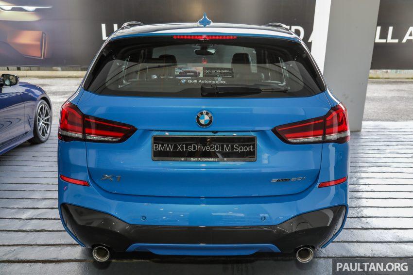 新车实拍: BMW X1 sDrive20i M Sport, 入门SUV更年轻化 Image #114655