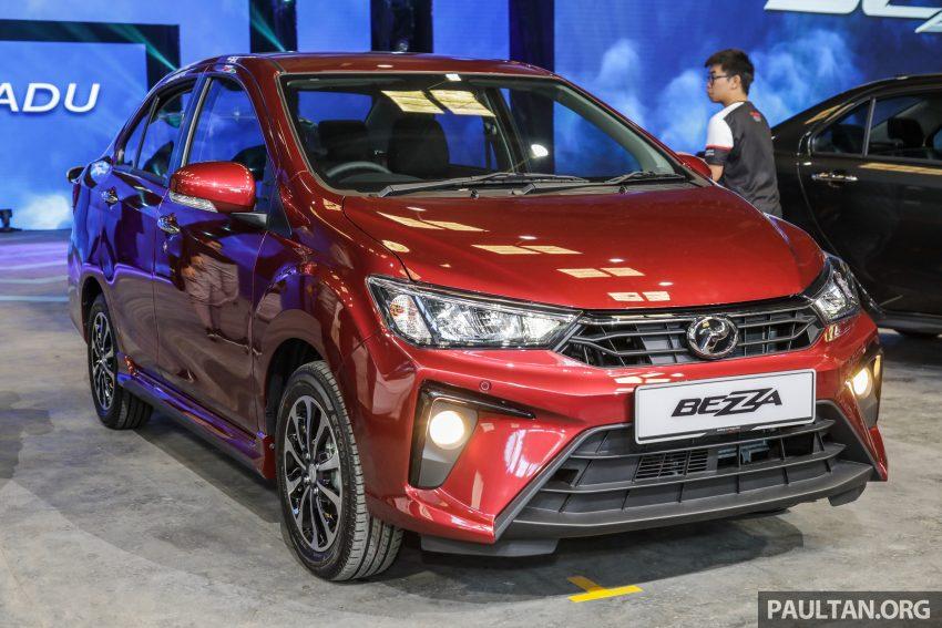 2020 Perodua Bezza 小改款上市, 4等级价格从3.46万起 Image #114254