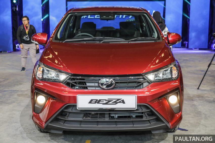 2020 Perodua Bezza 小改款上市, 4等级价格从3.46万起 Image #114257