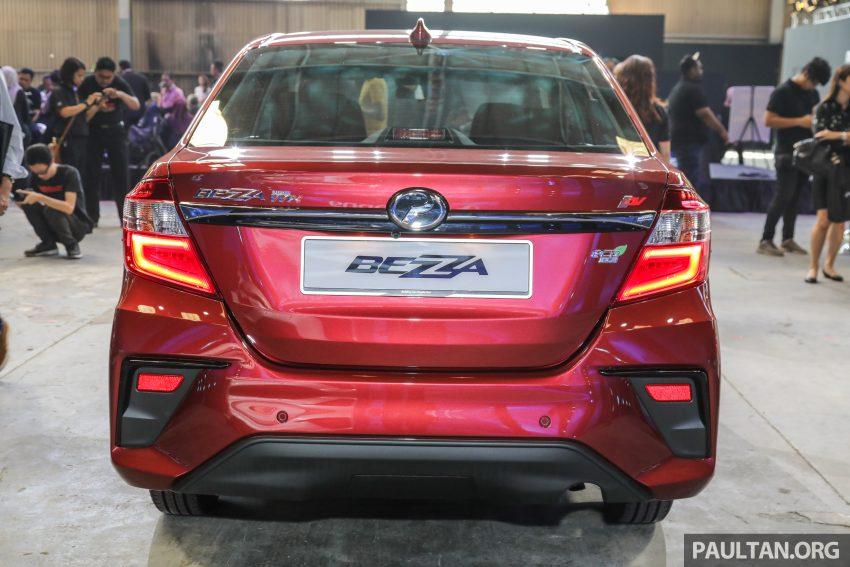 2020 Perodua Bezza 小改款上市, 4等级价格从3.46万起 Image #114258